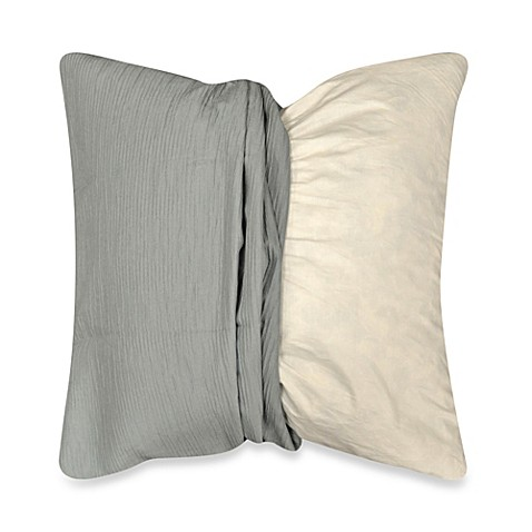 Throw Pillow Covers Bed Bath Beyond : MYOP Sonoma Square Throw Pillow Cover in Blue - Bed Bath & Beyond