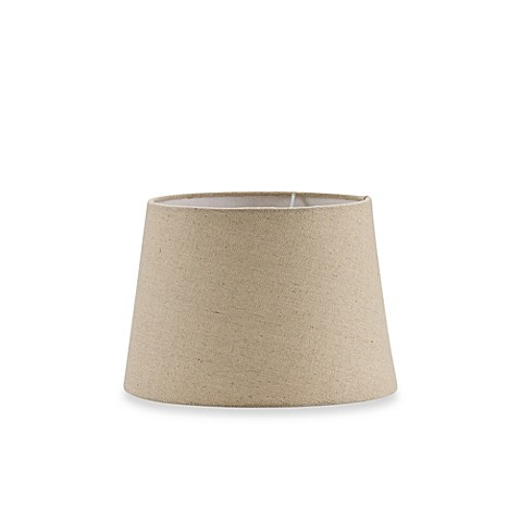 mix match small 10 inch hardback burlap drum lamp shade in oatmeal. Black Bedroom Furniture Sets. Home Design Ideas