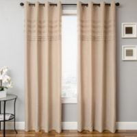Softline Robin 84-Inch Window Curtain Panel in Sand