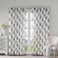 Addison 52-Inch x 84-Inch Window Curtain Panel in Grey