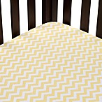 Carter's® Mix & Match Zigzag Fitted Crib Sheet in Yellow