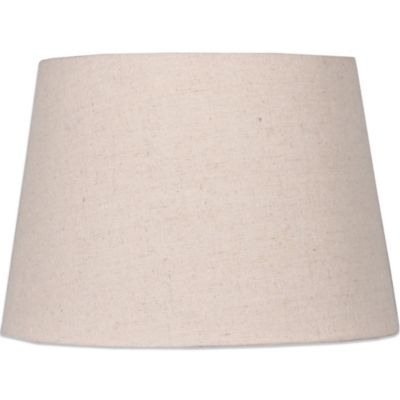 Buy medium lamp shade from bed bath beyond mix match medium 14 inch hardback burlap lamp shade in beige audiocablefo