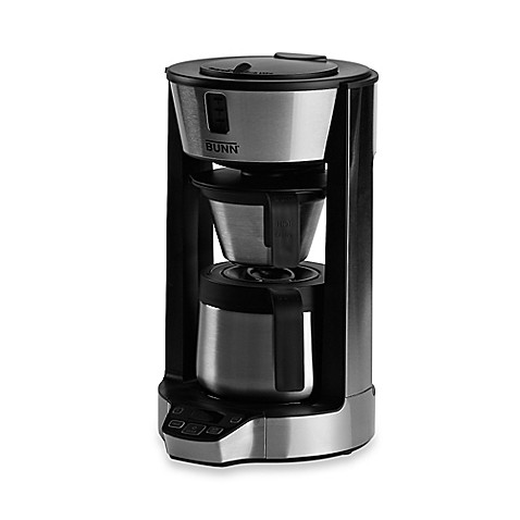 bunn phase brew 8 cup digital coffee brewer with thermal