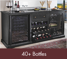 Wine Racks for 40+ Bottles