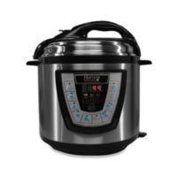 Pressure Pro 6-Quart Electric Pressure Cooker in Black