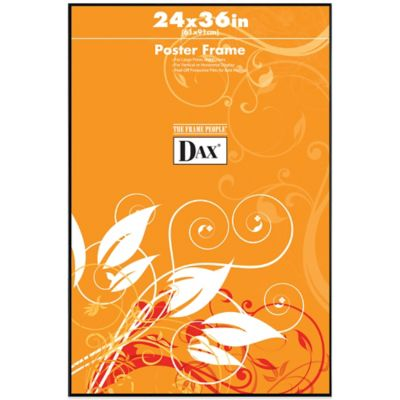dax 24 inch x 36 inch black poster frame
