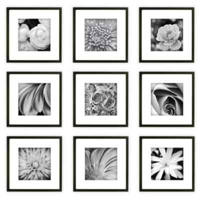 Gallery Perfect 9-Piece Square Frame Kit