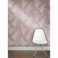 Tempaper® Double Roll Removable Wallpaper in Edie Champagne