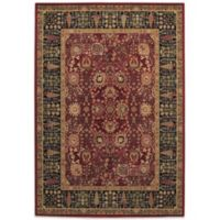 Couristan® Cypress Garden 6-Foot 6-Inch x 9-Foot 10-Inch Rug in Persian Red