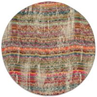 Oriental Weavers Kaleidescope 7-Foot 8-Inch Round Contemporary Rug in Multicolor