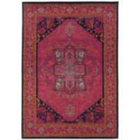 Oriental Weavers Kaleidescope 4-Foot x 5-Foot 9-Inch Contemporary Rug in Pink