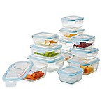 ProGlass 24-Piece Food Storage Set with Easy Snap Lids