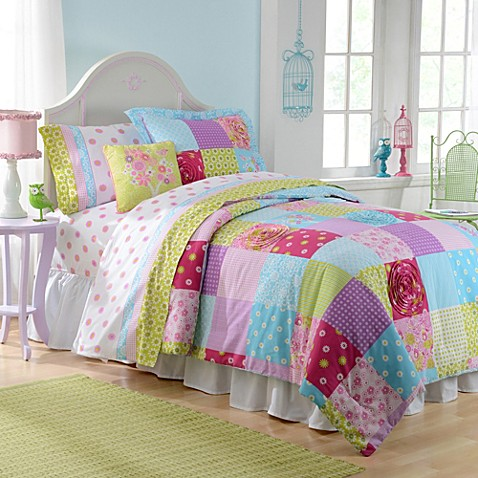 comforter patchwork floral product from quilt large etc collections blossom