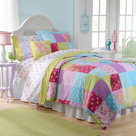 Patchwork Reversible Comforter Set Bed Bath Amp Beyond