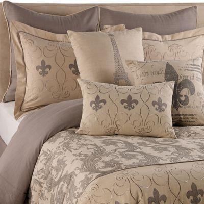 Fleur De Lis King Comforter Set