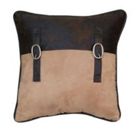 HiEnd Accents Barbwire Accent Square Throw Pillow