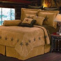HiEnd Accents Western Star Comforter Set