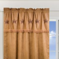 HiEnd Accents Western Star Window Curtain Panel