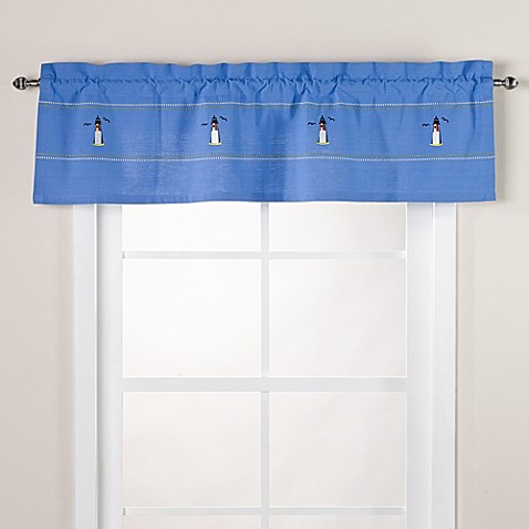 Lighthouse Window Valance Bed Bath Amp Beyond