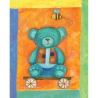 12-Inch x 12-Inch Motif Teddy Bear Wall Art