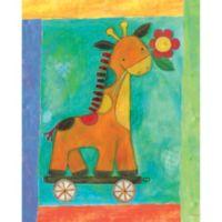 12-Inch x 12-Inch Motif Giraffe Wall Art