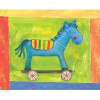 12-Inch x 12-Inch Motif Horse Wall Art