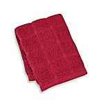 Kitchensmart® 12-Inch x 12-Inch Solid Dish Cloth in Ming Red