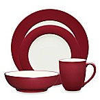 Noritake® Colorwave Rim 4-Piece Place Setting in Raspberry