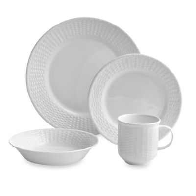Wedgwood® Nantucket Basket 4-Piece Place Setting  sc 1 st  Bed Bath \u0026 Beyond & Buy Casual Dinnerware Sets from Bed Bath \u0026 Beyond
