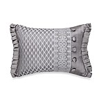 J. Queen New York™ Luxembourg Boudoir Throw Pillow in Antique Silver