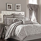 J. Queen New York™ Luxembourg Queen Comforter Set in Antique Silver