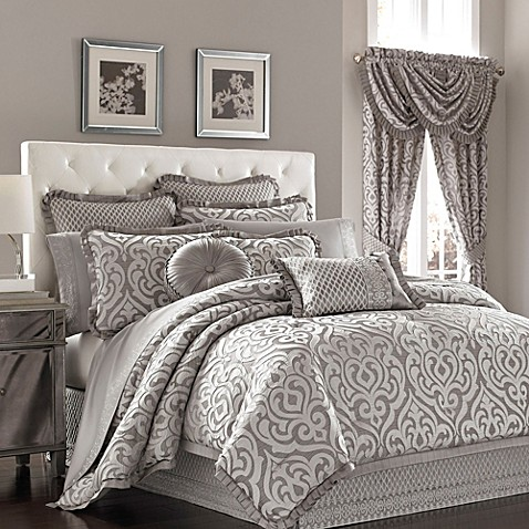 J Queen New York Luxembourg Comforter Set In Antique