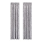 J. Queen New York™ Luxembourg 84-Inch Window Curtain Panel Pair in Antique Silver
