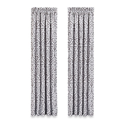 J Queen New York Luxembourg Window Curtain Panel Pair