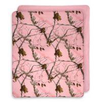 Realtree® AP Pink Reversibile Throw
