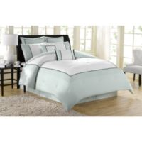Soho New York Home Hotel 8-Piece Queen Comforter Set