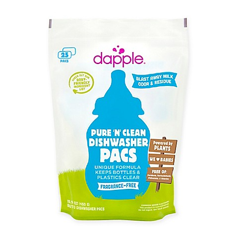 dapple® 25-Count Pure 'N' Clean Dishwasher Pacs in