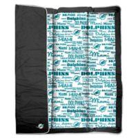 NFL Miami Dolphins Indoor/Outdoor Throw Blanket