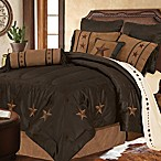 HiEnd Accents Laredo 5-Piece Queen Comforter Set in Chocolate
