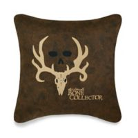 Bone Collector™ by Michael Waddell Decorative Pillow in Brown