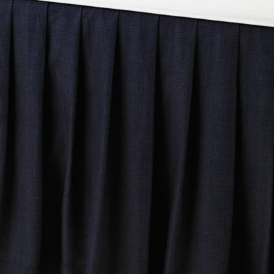 buy navy blue bed skirt queen from bed bath & beyond