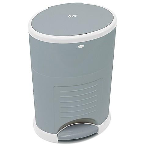 Diaper dekor kolor plus diaper disposal system in grey for Dekor diaper pail refills