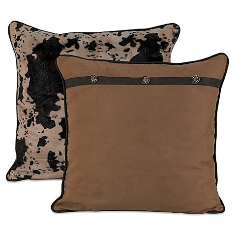 image of HiEnd Accents Caldwell Reversible European Pillow Sham
