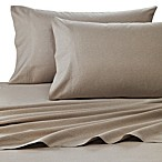 Wamsutta® 400 Thread Count Dot Printed Queen Sheet Set in Taupe