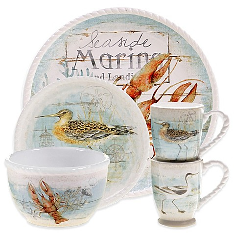 Certified International Beach Cottage Dinnerware And