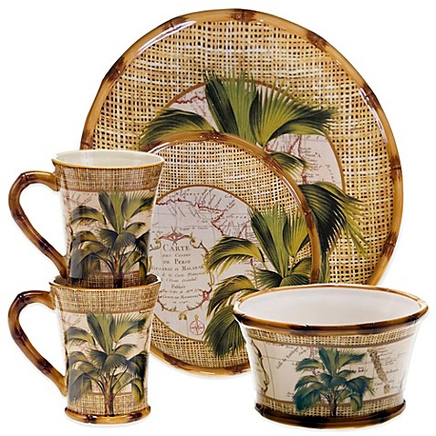 Certified International Las Palmas Dinnerware Collection  sc 1 st  Bed Bath u0026 Beyond : las palmas dinnerware - pezcame.com