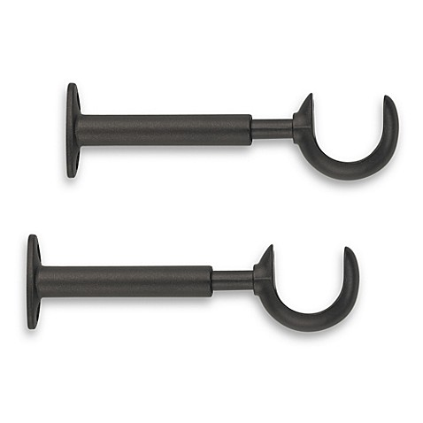 Buy Cambria Premier Complete Replacement Bracket In Matte Brown Set Of 2 From Bed Bath Beyond