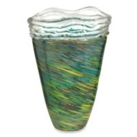 Dale Tiffany™ Aquamarine 10-Inch x 14-Inch Braided Vase