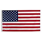3-Foot x 5-Foot Traditional Hanging American Flag