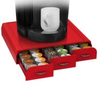 Mind Reader Anchor 36 K-Cup® Capacity Drawer in Red